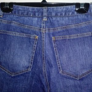 Talbots Petites Stretch Jeans 4 Blue Denim